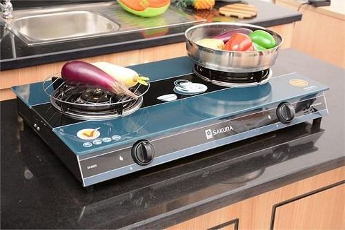 Bảo quản bếp gas mặt kính