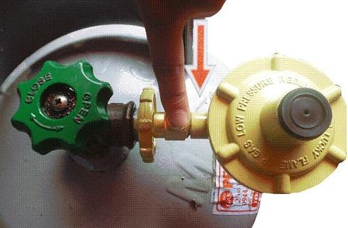 Cách tháo lắp van gas