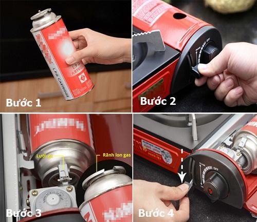 Sửa bếp gas mini lửa nhỏ