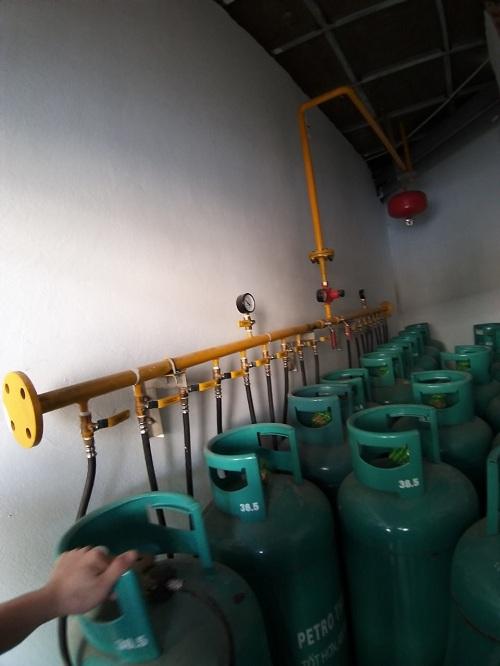 Sửa chữa, bảo dưỡng hệ thống giàn gas