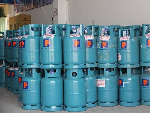 Xử lý bình gas bị xì
